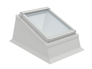 VELUX - ECX MK06 0000T - Insulated kerb for installation of RW in flat roof,0-15 degrees,78x118