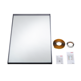 VELUX - IPL CK04 0070 - 24 mm double glazed replacement pane for V22 roof windows, 55x98